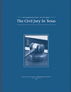 The Civil Jury In Texas